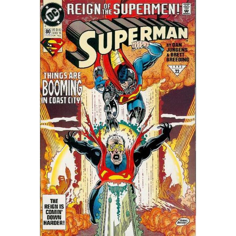 Superman vol 2 #80