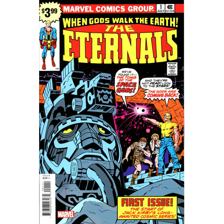 The Eternals #1 Facsimile Edition