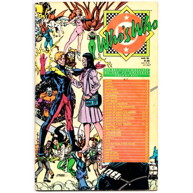 Who`s Who vol 13 (1986)