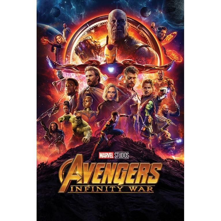 Постер «Мстители: Война Бесконечности» 167