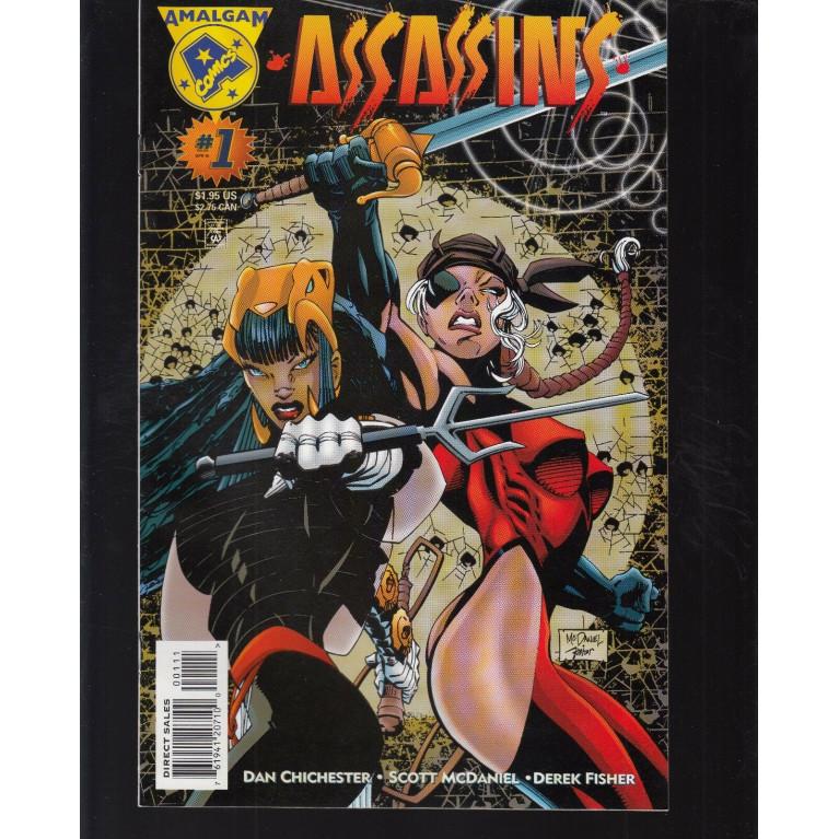 Assassins #1 Amalgam Comics