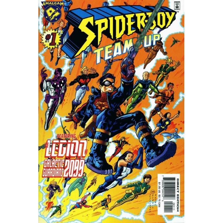 Spider-Boy Team Up #1 Amalgam Comics