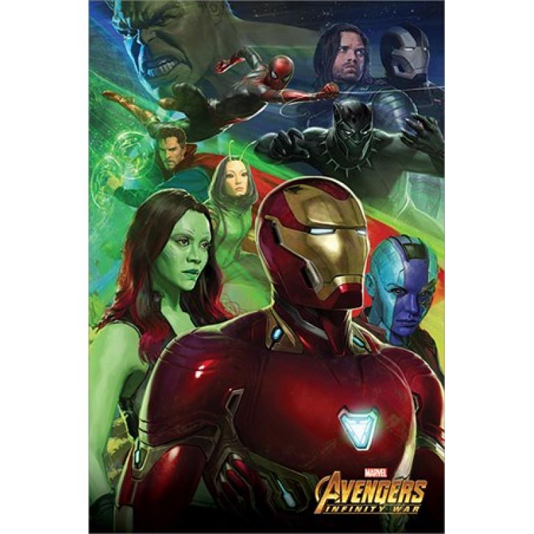 Постер «Война Бесконечности: Железный Человек» 157