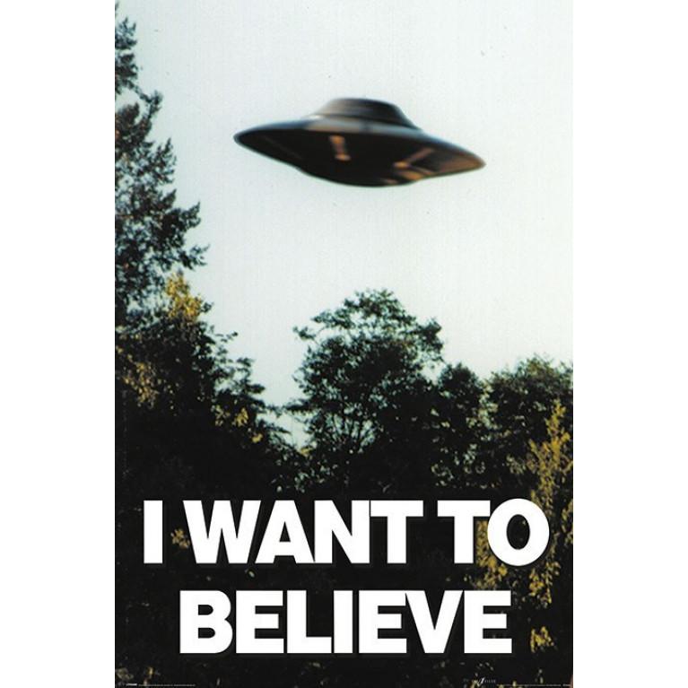 Постер «I want to Believe» 100