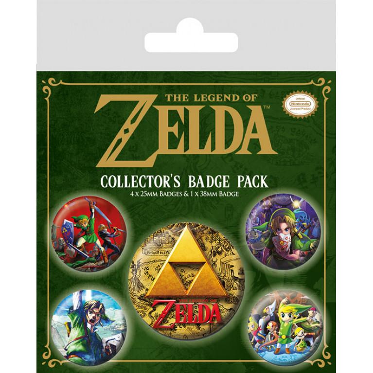 Набор значков «Legend of Zelda»
