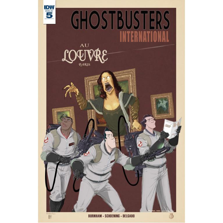 Ghostbusters International #5