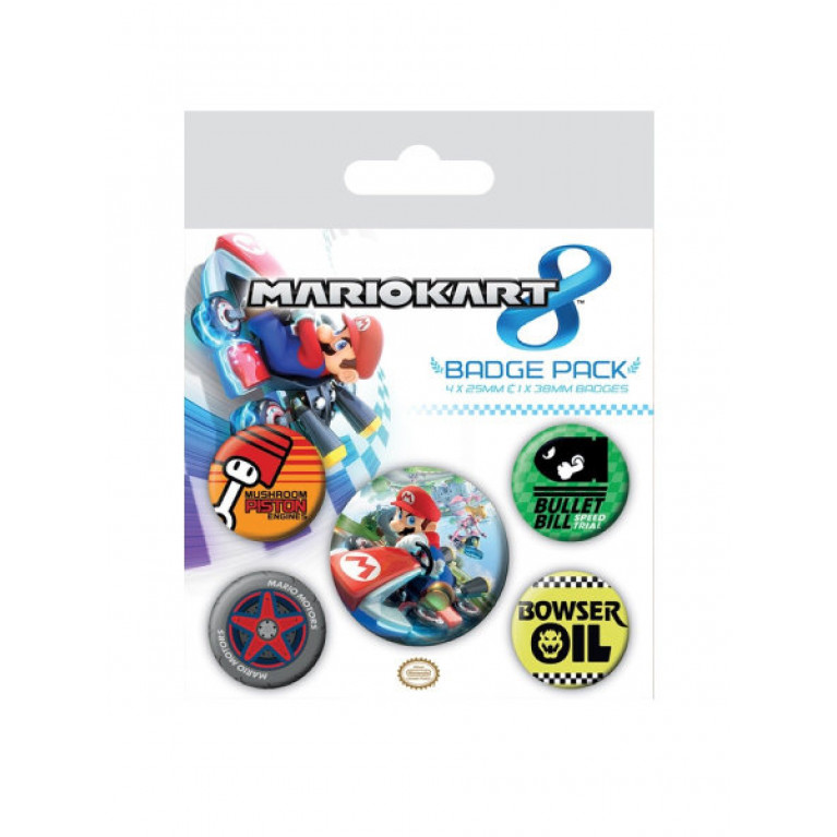 Набор значков «Mariokart»