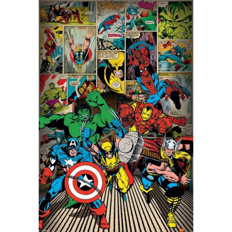 Постер «Мстители» 98