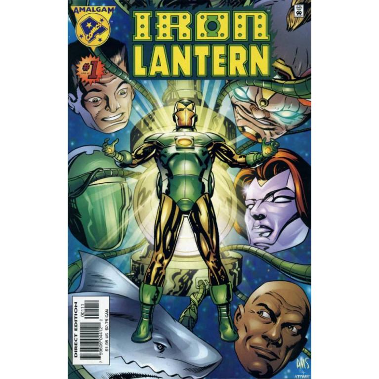 Iron Lantern #1 Amalgam Comics