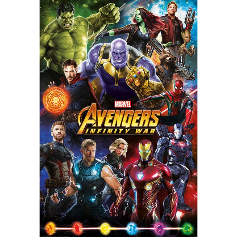 Постер «Мстители: Война Бесконечности» 154