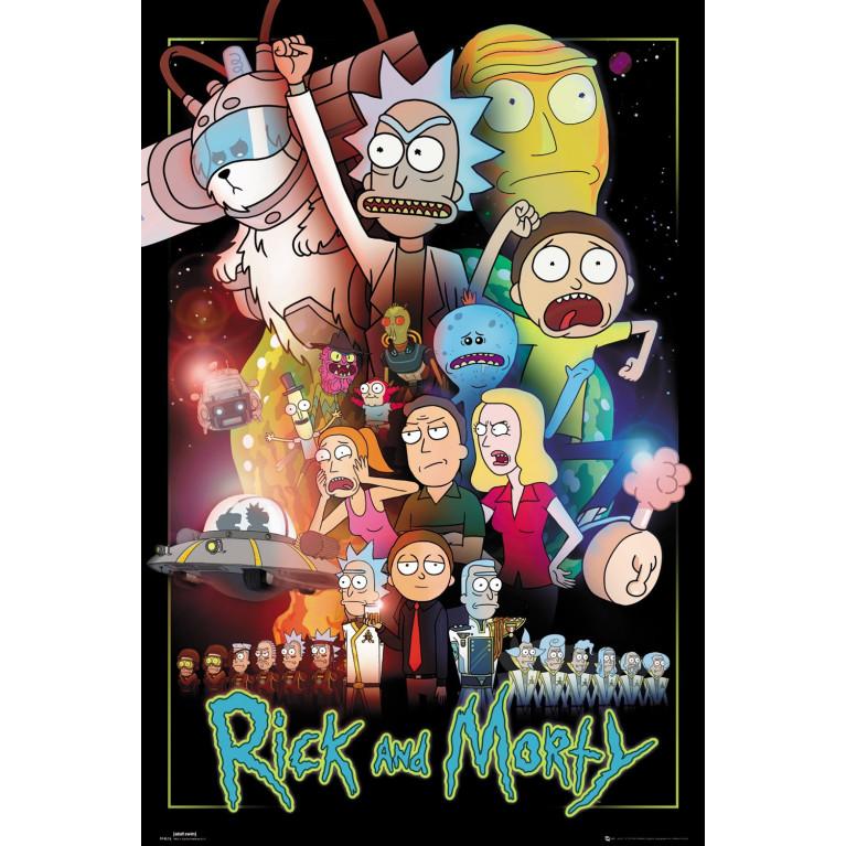 Постер «Рик и Морти» 113