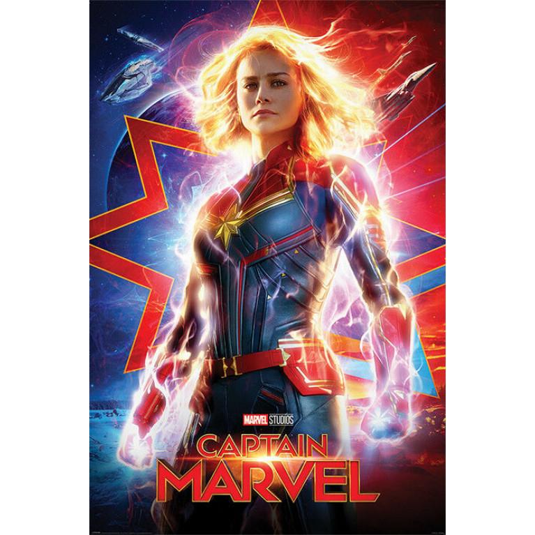 Постер «Капитан Марвел» 234