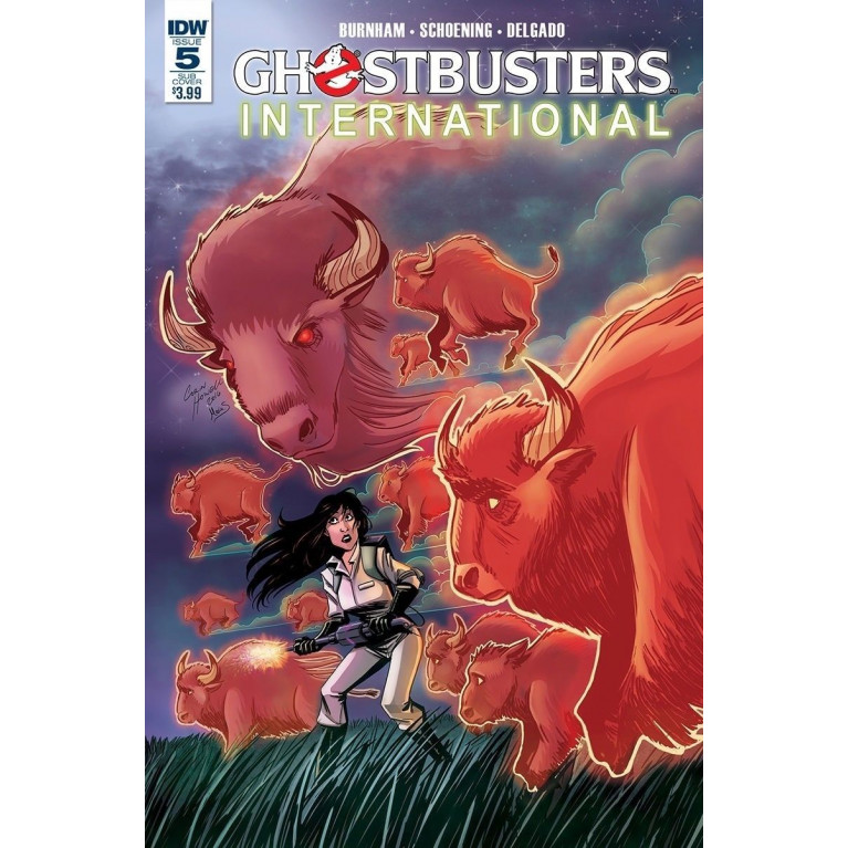 Ghostbusters International #5 cover B