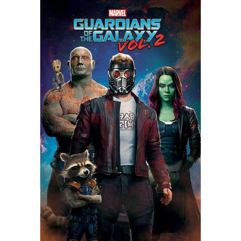 Постер Стражи Галактики. Часть 2 Guardians of the Galaxy Vol. 2 (Characters In Space) 152