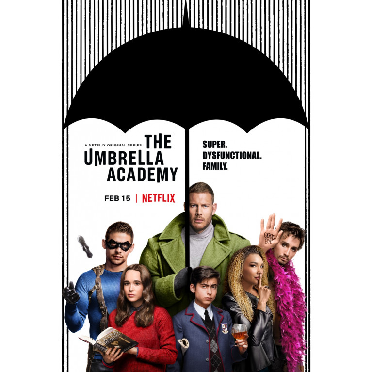 Постер «Академия Амбрелла» 270