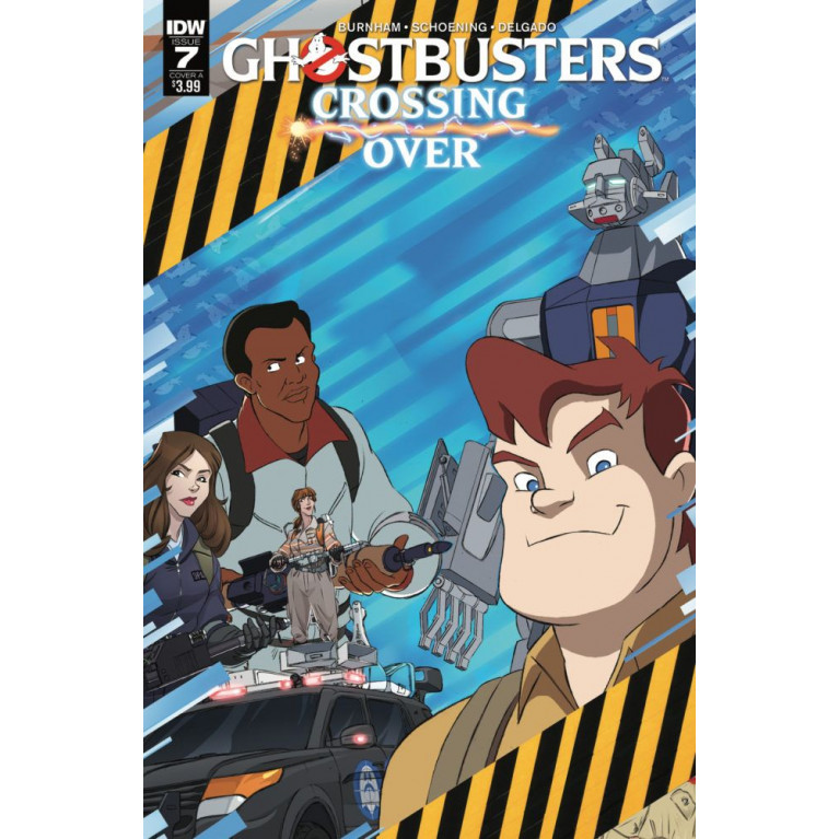 Ghostbusters Crossing Over #7