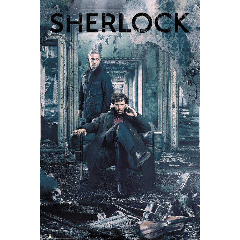 Постер «Шерлок» 144