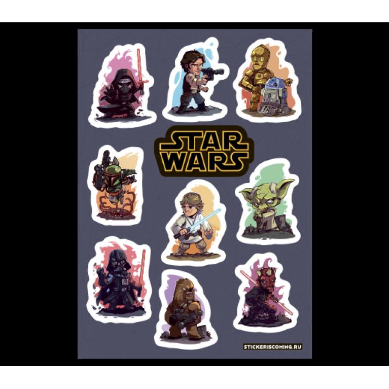 Набор Стикеров «Звездные войны»