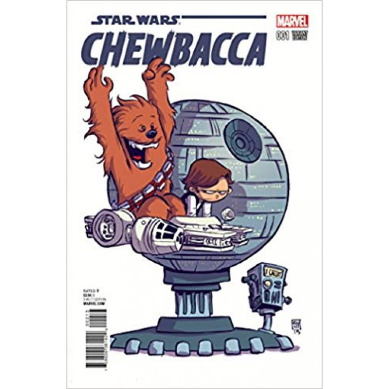 Star Wars Chewbacca #1 (Skottie Young variant cover)
