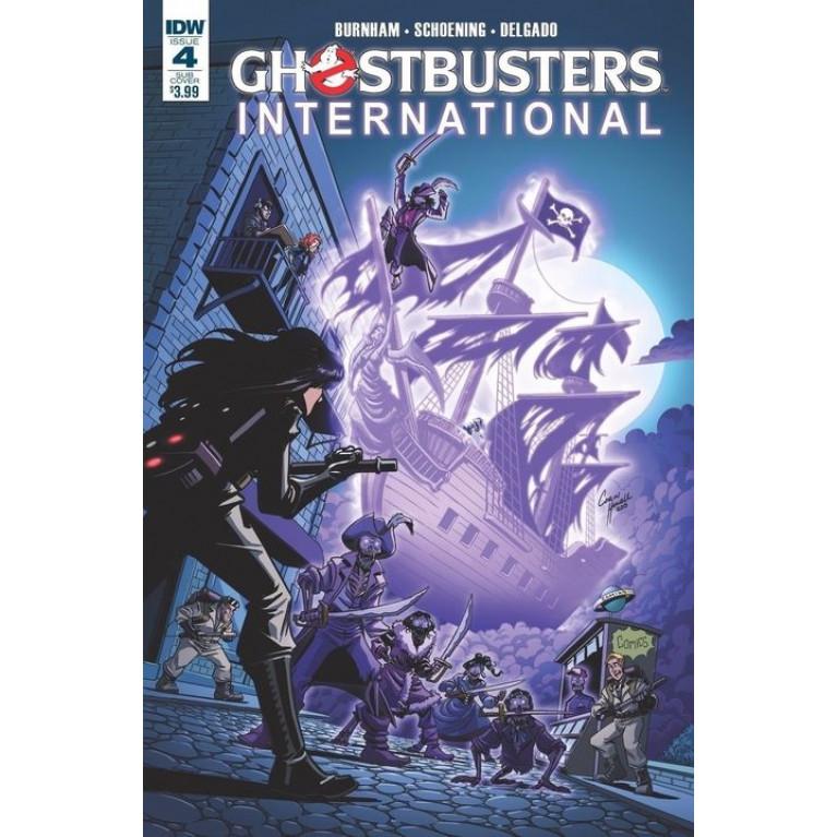 Ghostbusters International #4