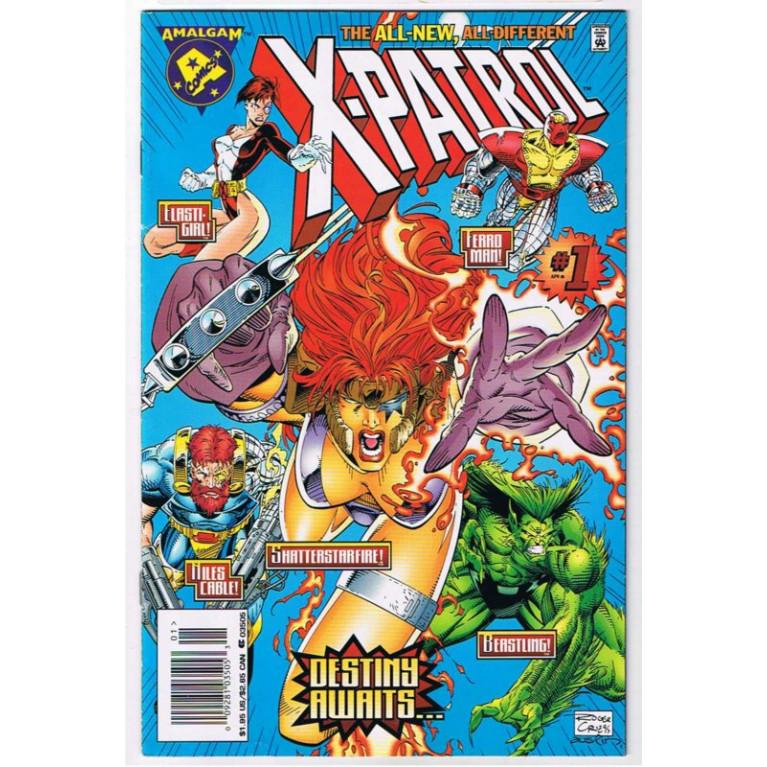 X-Patrol #1 Amalgam Comics