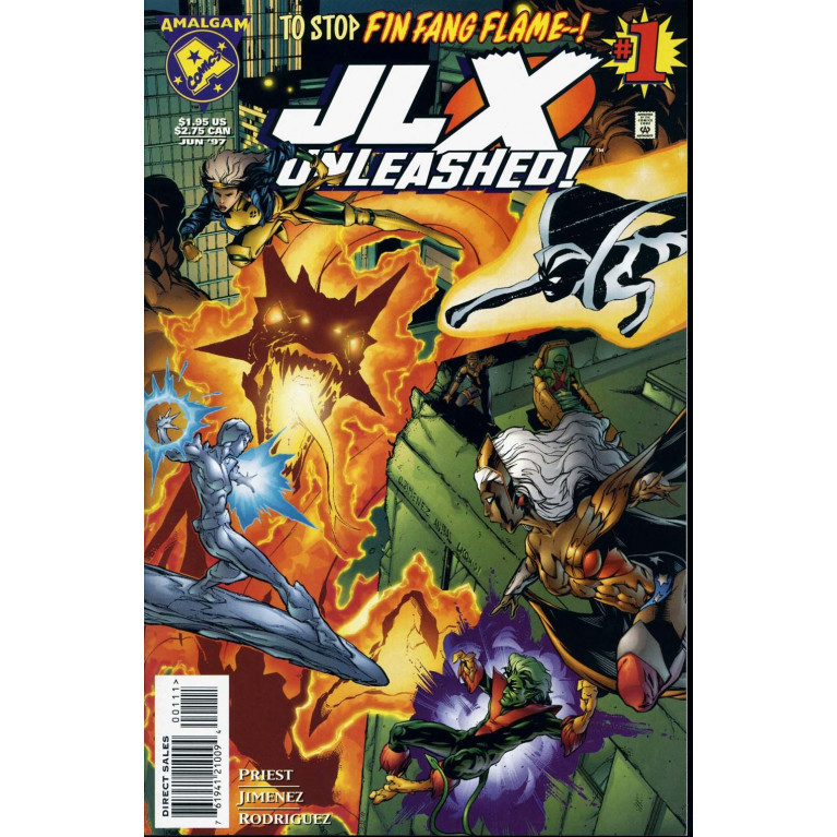 JLX Unleashed! #1 Amalgam Comics