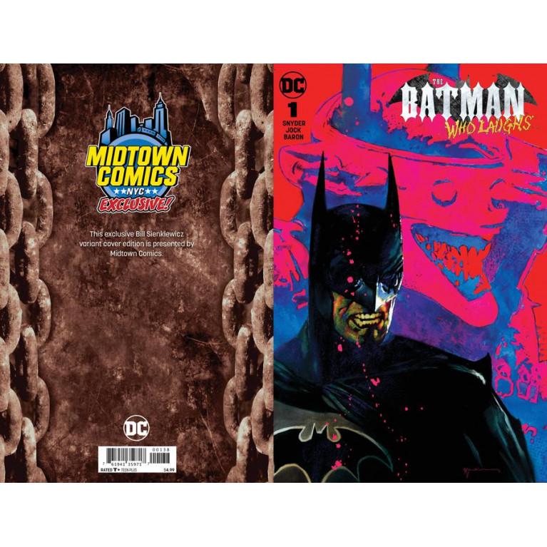 Batman Who Laughs #1 Midtown Comics cover