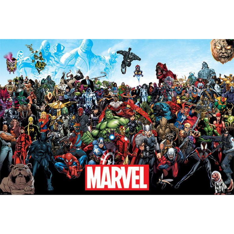 Постер Вселенная Марвел (Marvel Universe) 131
