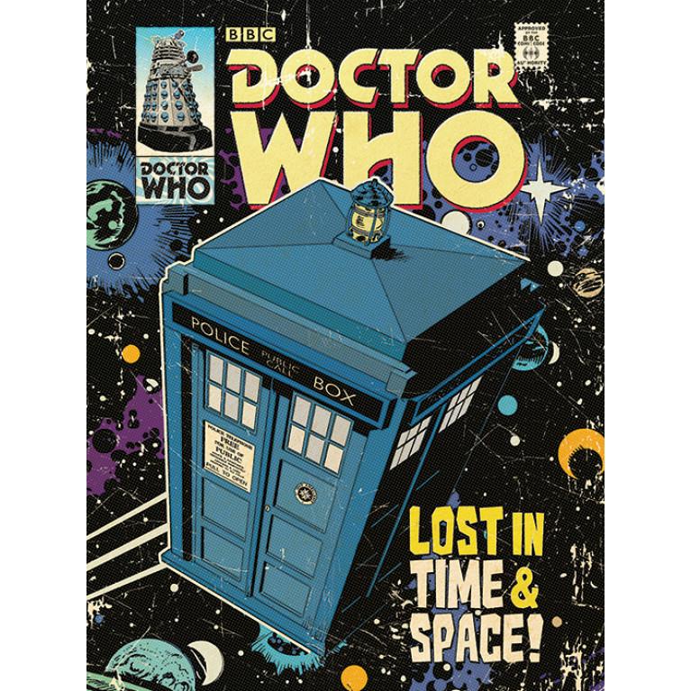 Постер «Доктор Кто» 2