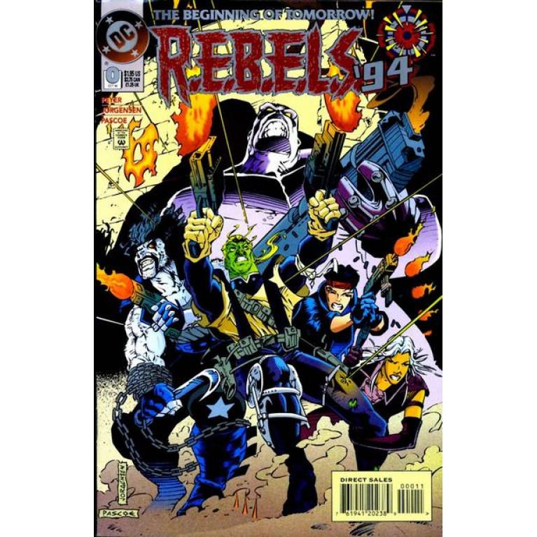 R.E.B.E.L.S. `94 #0