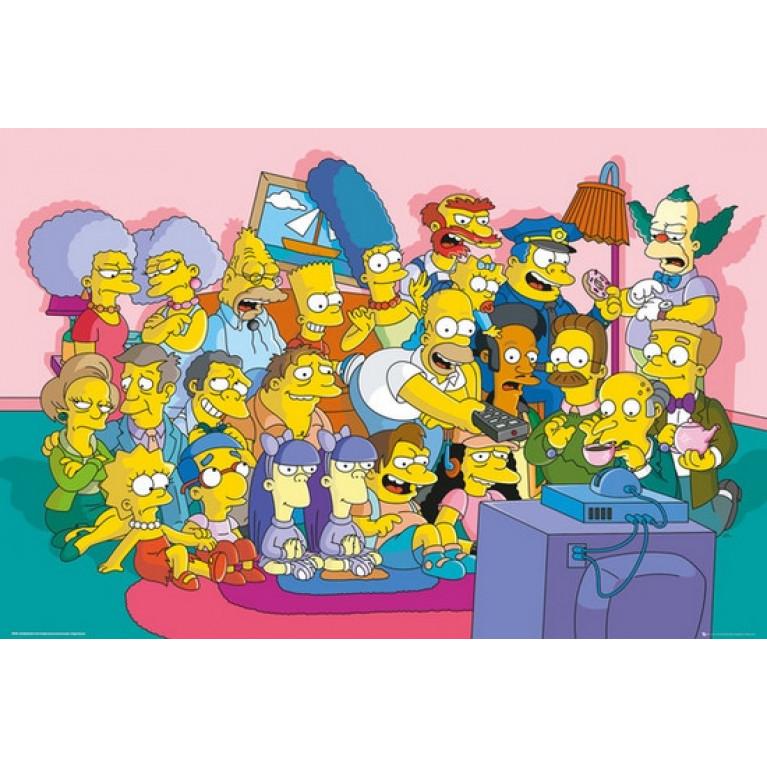 Постер «Симпсоны» 14