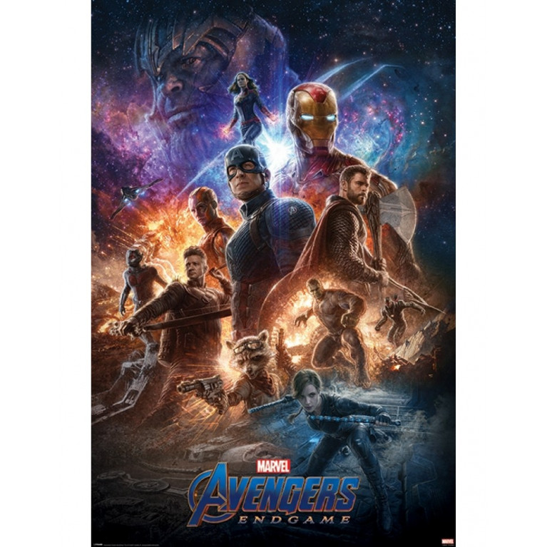 Постер Мстители Avengers: Endgame (From The Ashes) 252