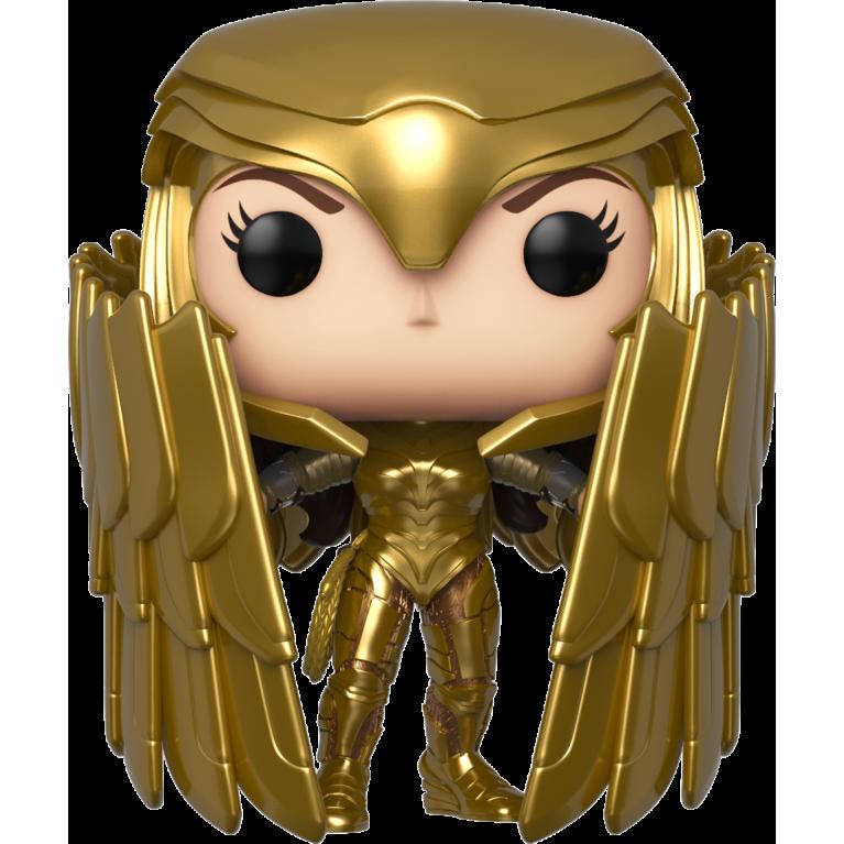 Чудо-Женщина Золотая Броня Funko POP (Wonder Woman Golden Armor metallic) — Эксклюзив