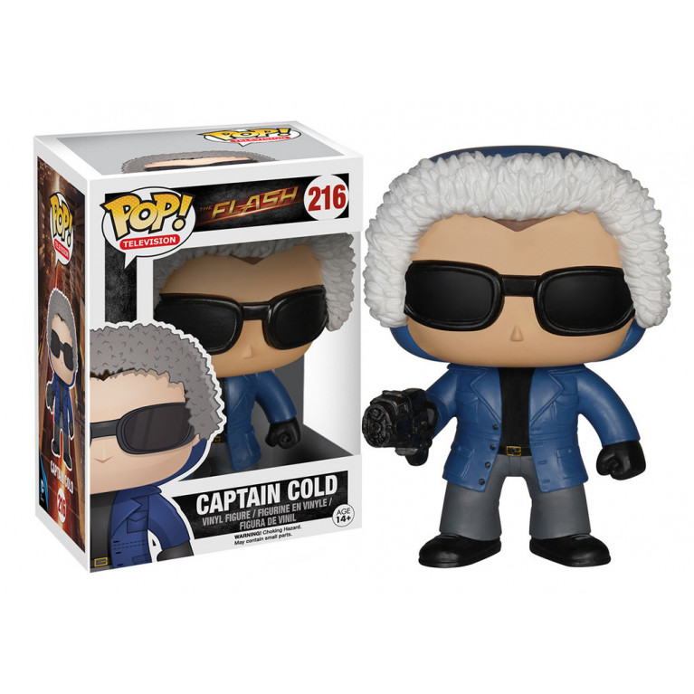 Капитан Холод Funko POP (Captain Cold) - дефект покраски