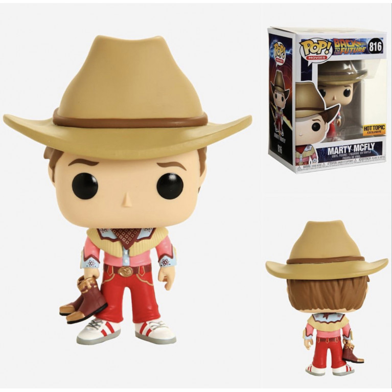 Марти МакФлай Ковбой Funko POP (Marty McFly Cowboy)