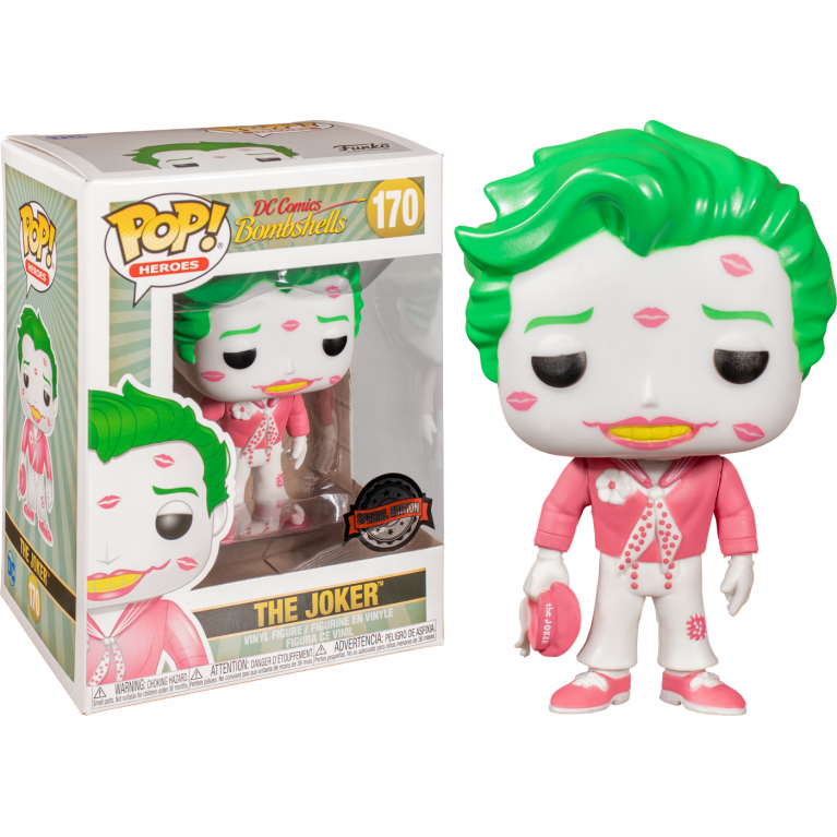 Джокер с поцелуями 2 Funko POP (Joker with kisses 2) — Эксклюзив