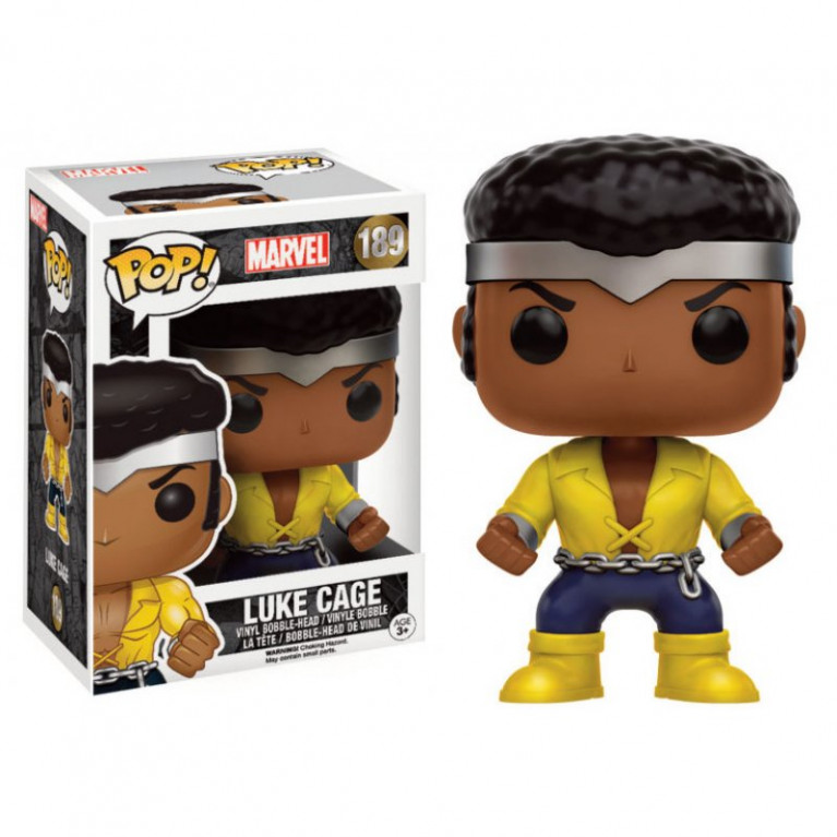 Люк Кейдж Funko POP (Luke Cage) — Эксклюзив — мятая коробка