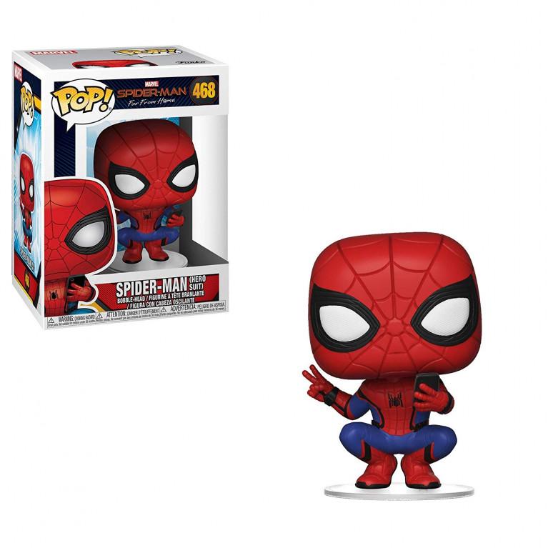 Человек-Паук FFH Funko POP (Spiderman Hero Suit)