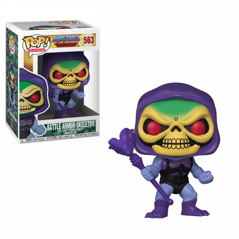 Скелетор в боевой броне Funko POP (Battle Armor Skeletor)