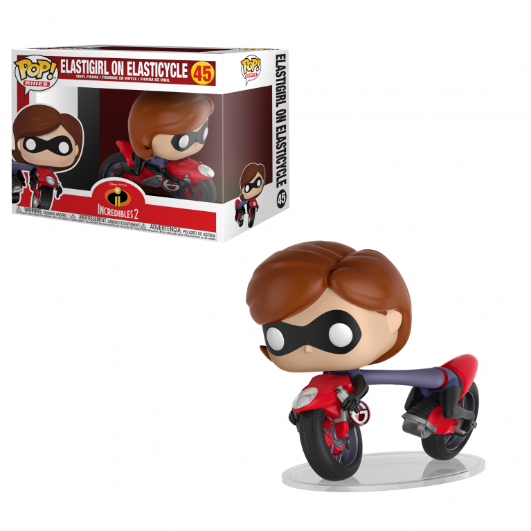 Эластика на мотоцикле Funko POP Ride (Elastigirl on bike)
