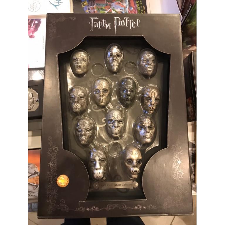 Набор Гарри Поттер Blue-Ray, Доп. материалы + набор масок Пожирателей Смерти