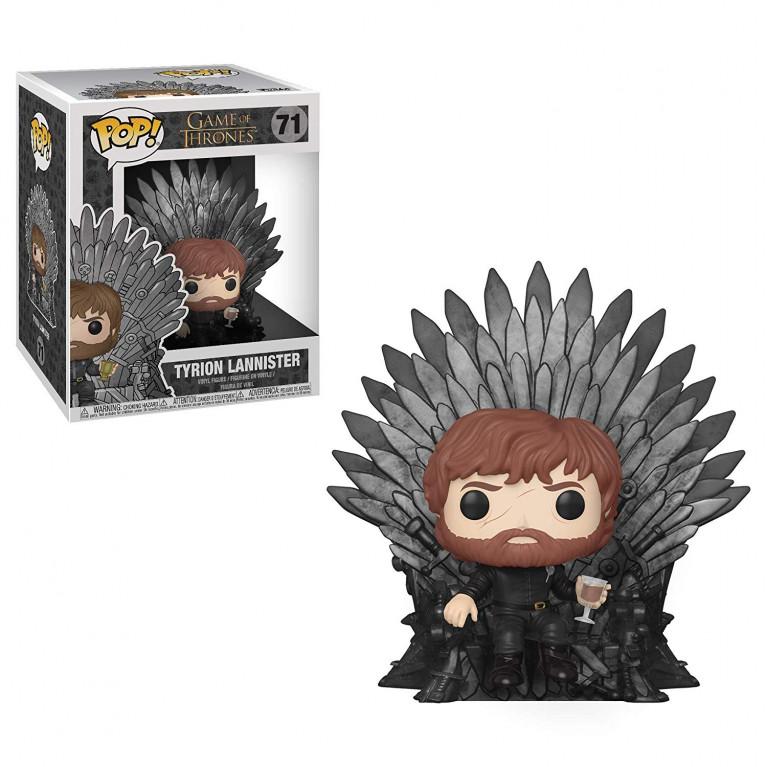 Тирион Ланнистер на Железном Троне Deluxe Funko POP (Tyrion Lannister on Iron Throne)