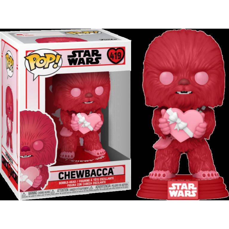 Чубакка Валентин Funko POP (Chewbacca Pink)