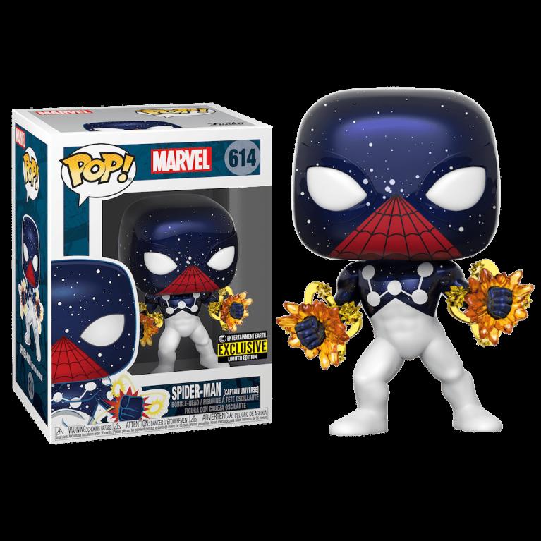 Человек-Паук Капитан Вселенная Funko POP (Spider-Man Captain Universe) — Эксклюзив