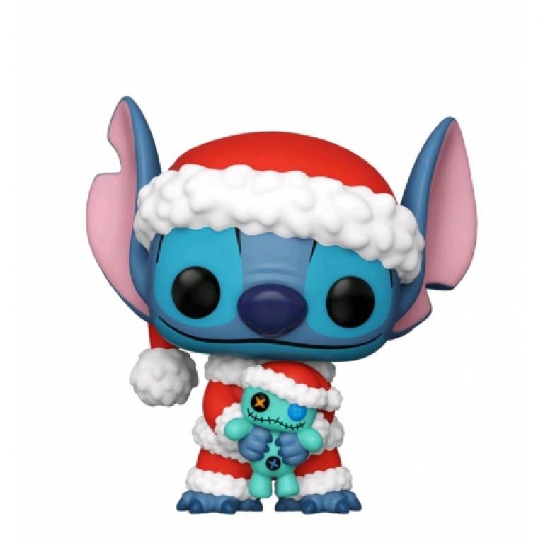 Санта Ститч Funko POP (Santa Stitch)