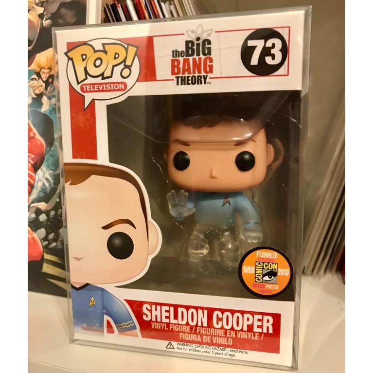 Шелдон Купер в костюме Стар Трек Funko POP (Sheldon Cooper Star Trek Transluent) - Очень редкий Эксклюзив!
