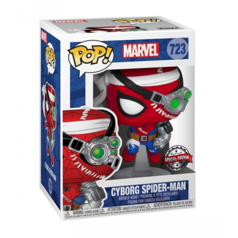 Киборг Человек-Паук Funko POP (Cyborg Spider-Man)