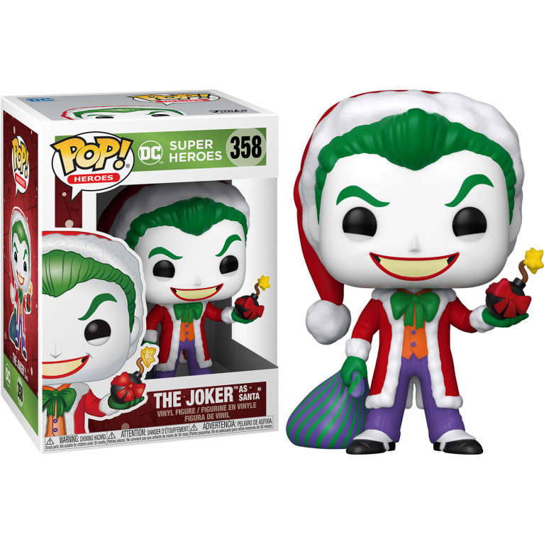 Джокер Санта Funko POP (Joker Santa)
