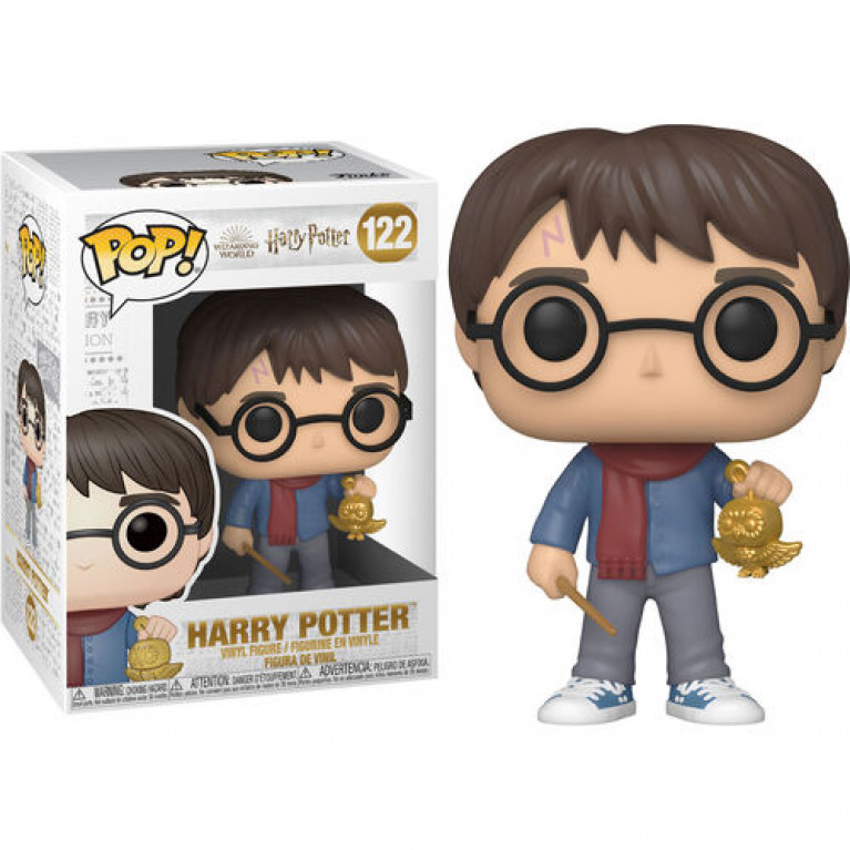 Гарри Поттер с елочной игрушкой Funko POP (Harry Potter Holiday)