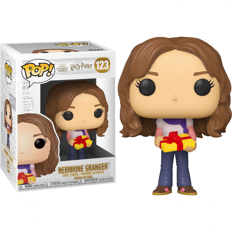 Гермиона с подарком Funko POP (Hermione Holiday)